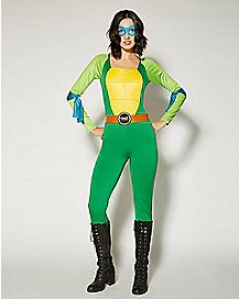 Adult Catsuit One Piece Costume - TMNT