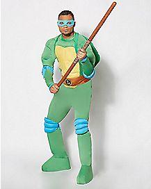 Adult Leonardo Costume Deluxe - Teenage Mutant Ninja Turtles.
