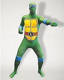 Adult Leonardo Skin Suit Costume - Teenage Mutant Ninja Turtles
