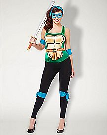 Metallic Leonardo Costume Kit - Teenage Mutant Ninja Turtles