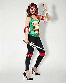 Metallic Raphael Costume Kit - Teenage Mutant Ninja Turtles