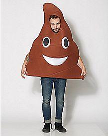 Adult Poop Emoji Costume