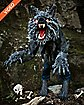 4 Ft Howling Werewolf Animatronics - Decorations