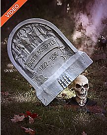 2 Ft Escape from the Grave Tomb Animatronics - Decorations