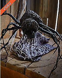 12 Inch Attack Spider Animatronics - Decorations