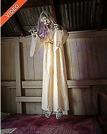 5 Ft Floating Ghost Girl Animatronics - Decorations