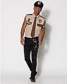 Adult Sergeant Frisky Police Costume