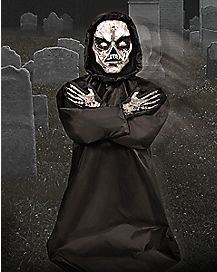 3 Ft Rise from the Grave Ghoul Animatronics - Decorations