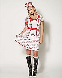 Adult Sweet Nurse Costume