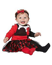 Baby Harley Quinn Dress - DC Comics