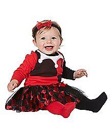 Baby Harley Quinn Dress - DC Comics