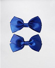 Blue Bows 2 pack
