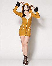 Adult Cozy Fawn Costume