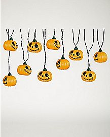 Jack O'Lantern String Lights