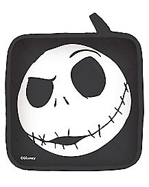 Jack Skellington Face Potholder - The Nightmare Before Christmas