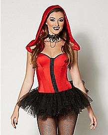Hooded Little Red Hood Corset