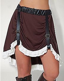 Adult Steampunk Skirt
