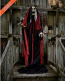7 Ft Rising Reaper Animatronics - Decorations