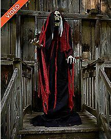 7 Ft Rising Reaper Animatronics - Decorations