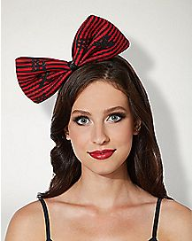 Creepy Doll Bow Headband