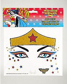 Wonder Woman Face Decal - DC Comics