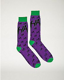 Joker Crew Socks - DC Comics