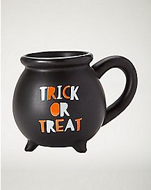Trick or Treat Cauldron Mug
