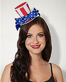 America Mini Top Hat Headband
