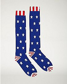 Americana Knee High Socks