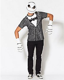 Jack Skellington Bow Tie T Shirt - The Nightmare Before Christmas
