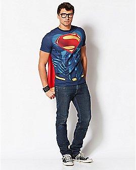 Caped Superman - Batman v. Superman: Dawn of Justice T Shirt - DC Comics