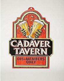3D Cadaver Tavern Sign - Decorations