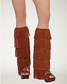 60's Fringe Boot Covers