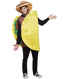 happy camper costume ads adult beef taco costume