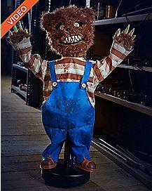 2.5 Ft Creepy Roaming Bear Animatronics - Decorations