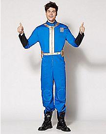 Adult Vault 111 Jumpsuit Costume - Fallout