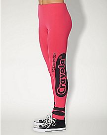 Razzmatazz Pink Leggings - Crayola