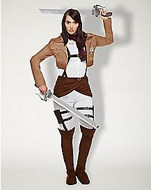Adult Mikasa Ackerman Costume - Attack on Titan