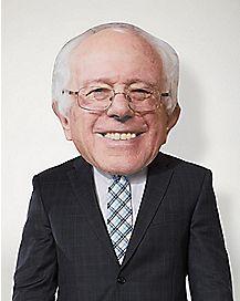 Smiling Bernie Oversized Mask