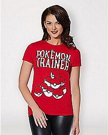Pokemon Trainer T Shirt - Pokemon