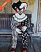 4.5 Ft Sitting Scare Clown Animatronics - Decorations