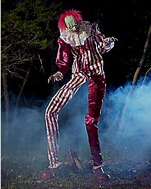 6.5 Ft Towering Clown Animatronics - Decorations