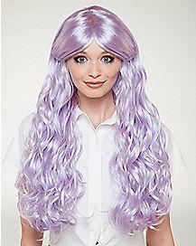 Lavender Anime Curls