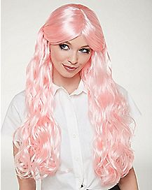 Pink Anime Curls