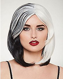 Black and White Wig