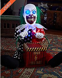 1 Ft Lil' Zappy the Clown Animatronics – Decorations