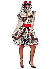 Adult Sugar Skull Bride Costume