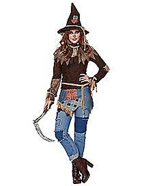 Adult Creepy Scarecrow Costume