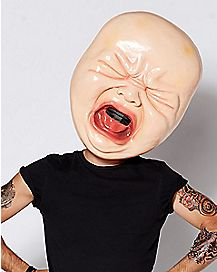 Big Head Crying Baby Mask