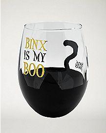 Binx is My Boo Stemless Glass 22 oz. - Hocus Pocus